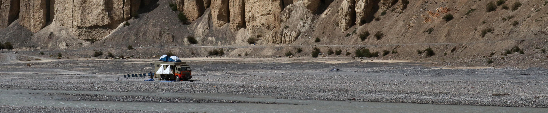 Taurus The Truck in Spiti Valley