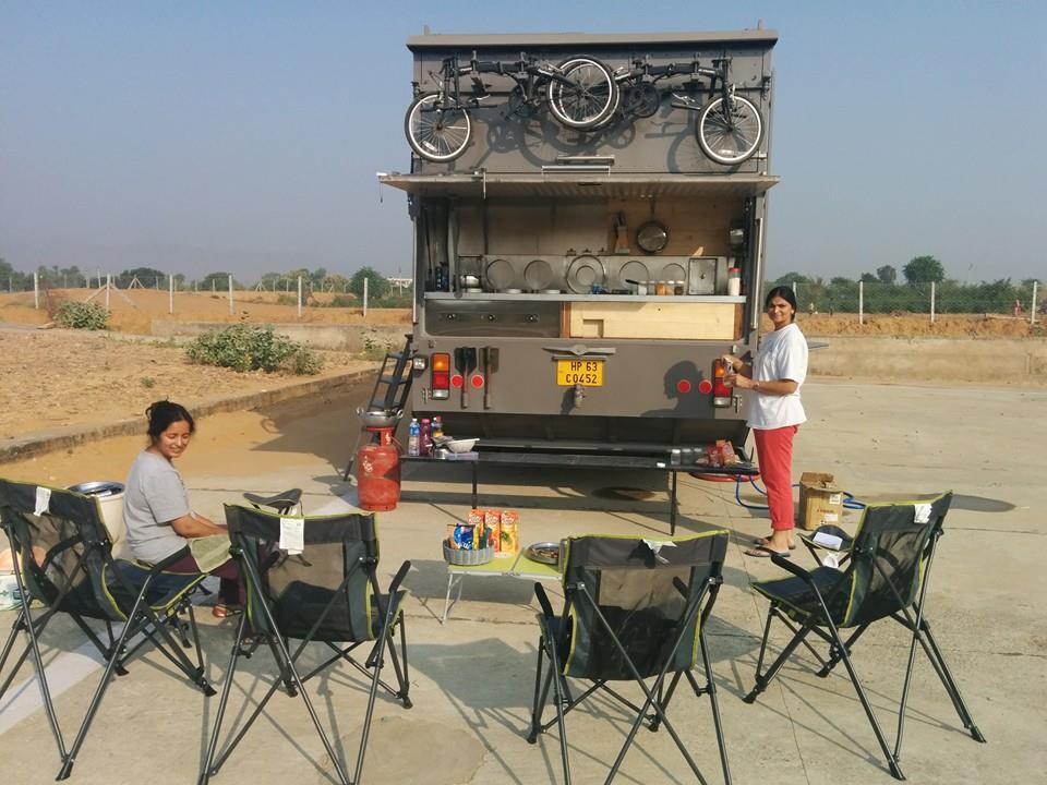 Kitchen Rajbir and Ms Sud