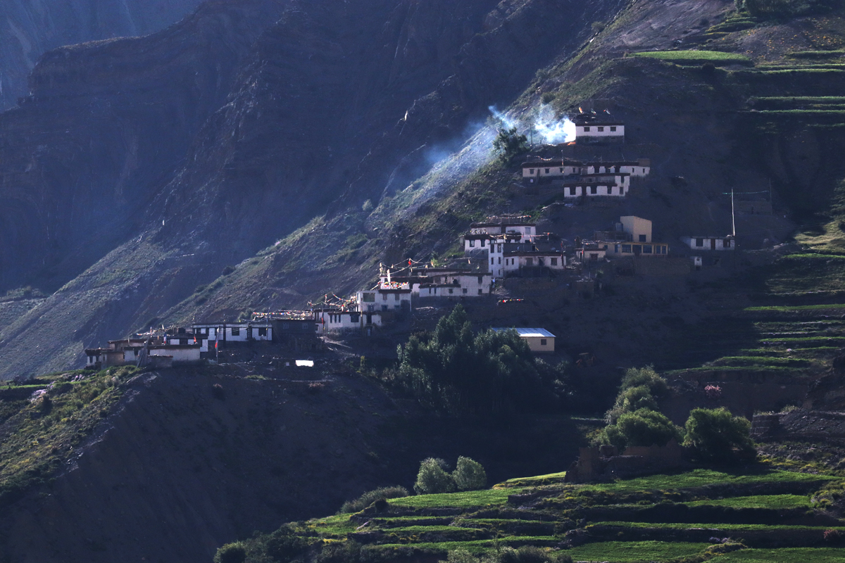 Village of Pin Valley, Spiti