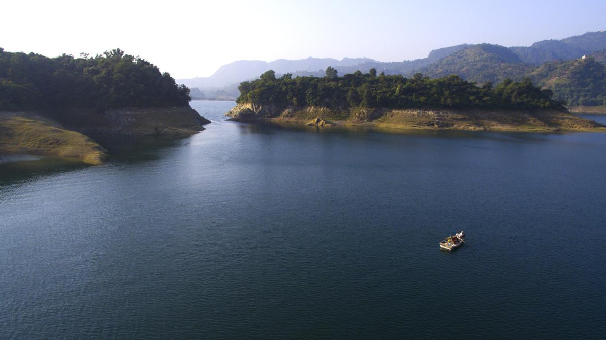 Bhakhra Dam Backwaters