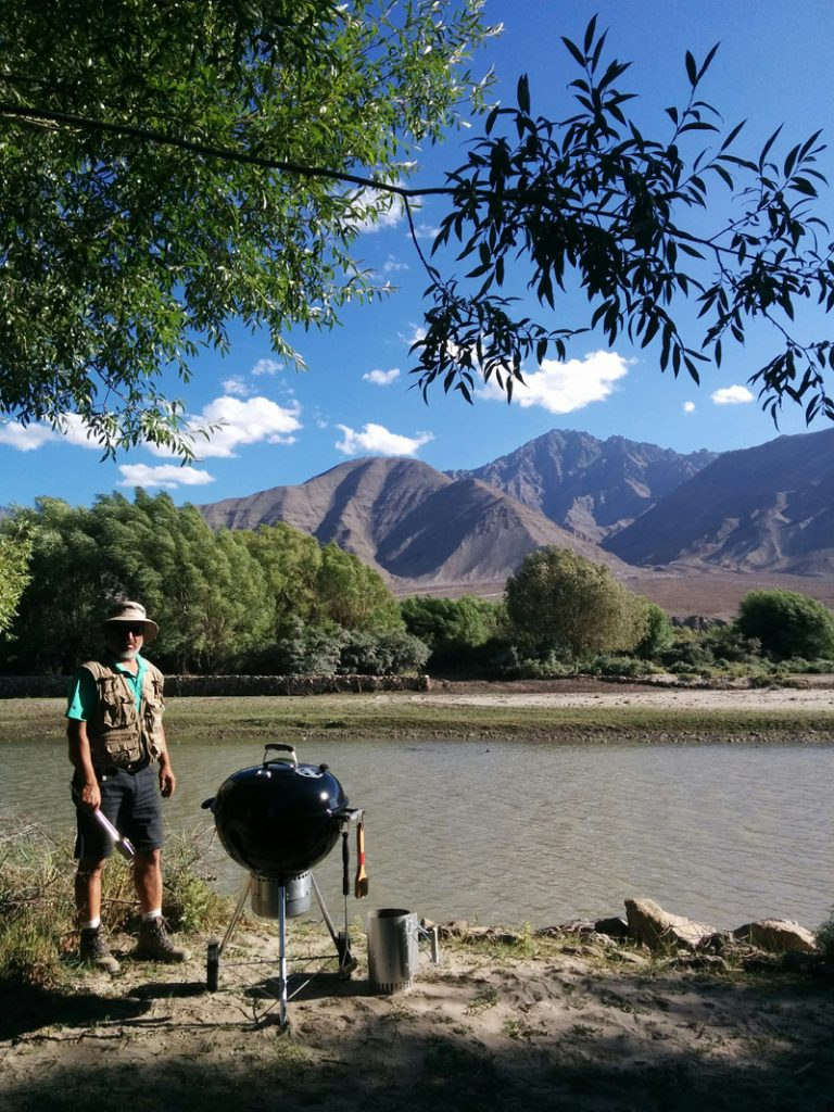 "img src=""barbecue food in leh ladakh riverside camping.jpeg"" alt=""weber barbecue grill q3200riverside caravan family holidays campervan camping vacation unique experience leh ladakh india"">"