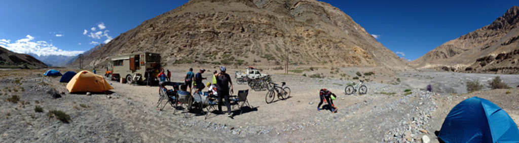 """<img src=""""cycling expedition ladakh.jpeg"""" alt=""""offbeat stay in campervan camp and overland truck on the move in wilderness nomadic with all comforts of camping best energy food ladakh"""">"""