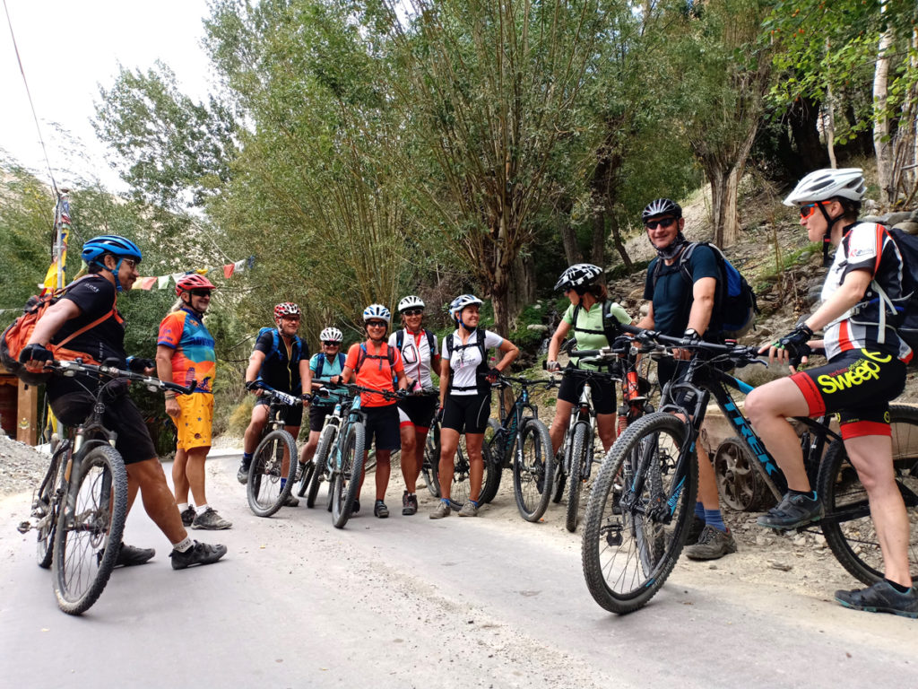 "<img src=""best cycling tour ladakh"" alt=""offbeat roads supported by overland truck for logistics overlanding  riverside caravan camping,  secluded quiet peaceful camp location, ladakh rajasthan bhuj kutch gujarat"">"