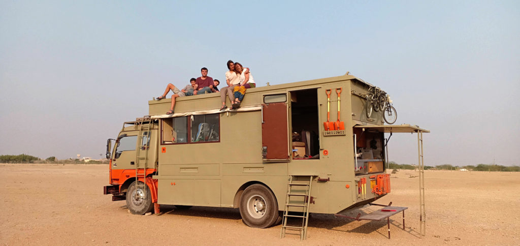 "<img src=""exclusive family holidays caravan campervan at khichan.jpeg"" alt=""offbeat motorhome overlanding thar desert caravan campervan rv camp best for family, solo women, all women groups, single girl, to relax, rejuvenate with nature, secluded camp locations, best veg food best way to explore khichan jaisalmer rajasthan india"">"