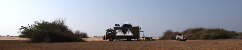 "<img src=""campervan caravan offbeat camp.jpeg"" alt=""soft adventure campervan vacation overlanding holiday onboard overland truck vanlife with weber barbecue grill food experience wilderness at sunset sunrise caravan and campervan for best for family kutch gujarat"">"