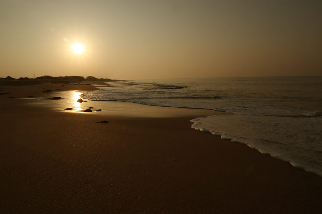 "<img src=""pingleshwar beach best sunrise india.jpeg"" alt=""best beach holidays luxury rustic nomadic unique experience of outdoor overlanding offbeat camp holiday away from tourists to relax unwind quiet place campervan caravan vanlife at secluded beach pingleshwar in kutch gujarat india"">"