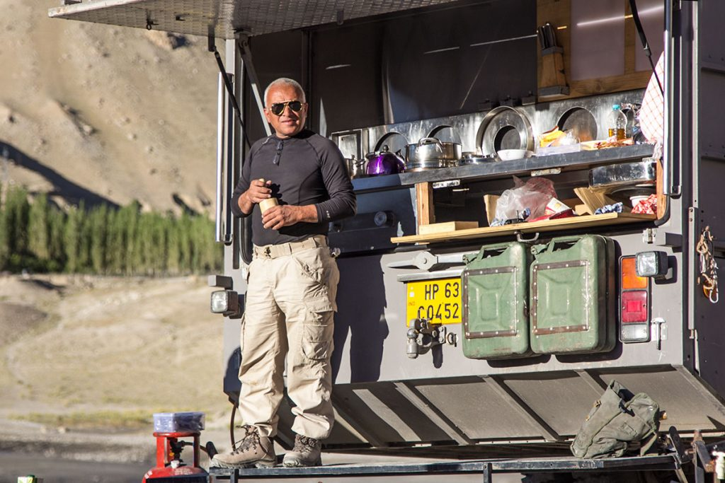 "<img src=""capt suresh sharma chef of taurus the truck"" alt=""capt suresh is multi talented cook photographer driver excellent team leader of green dot expeditions"">"