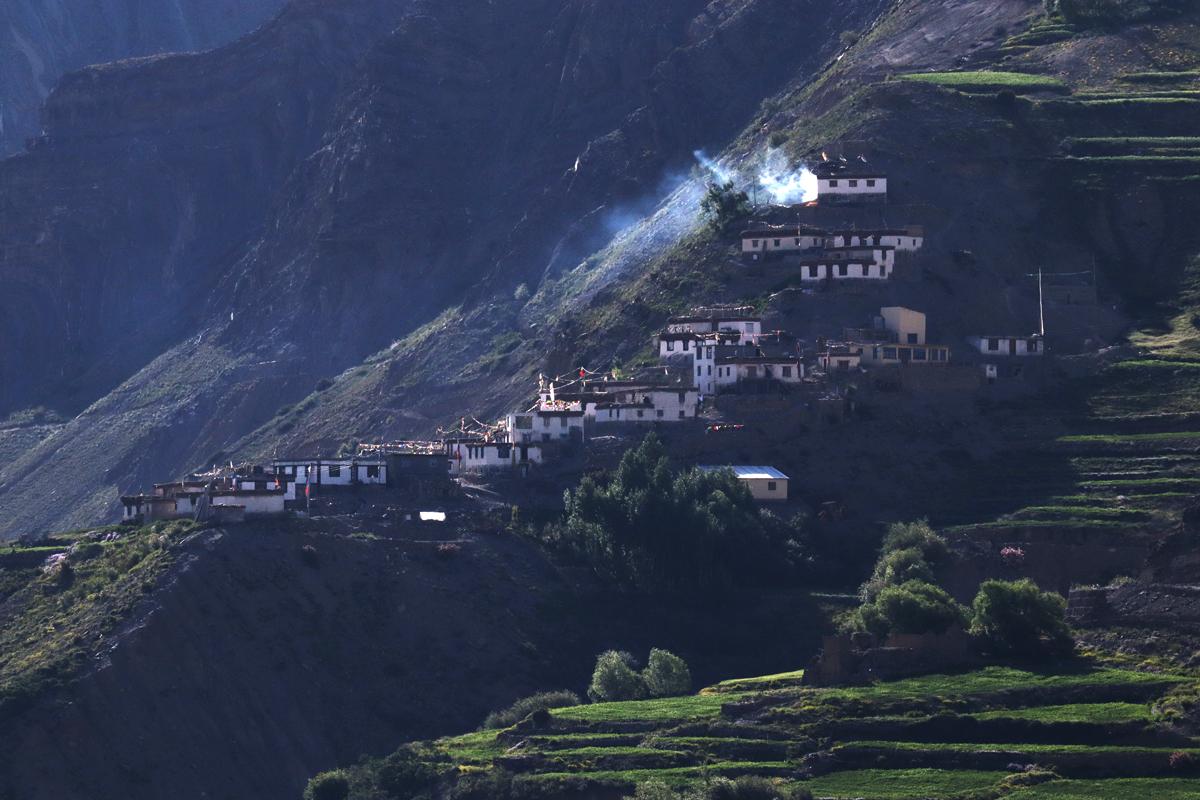 Village of Pin Valley, Spiti